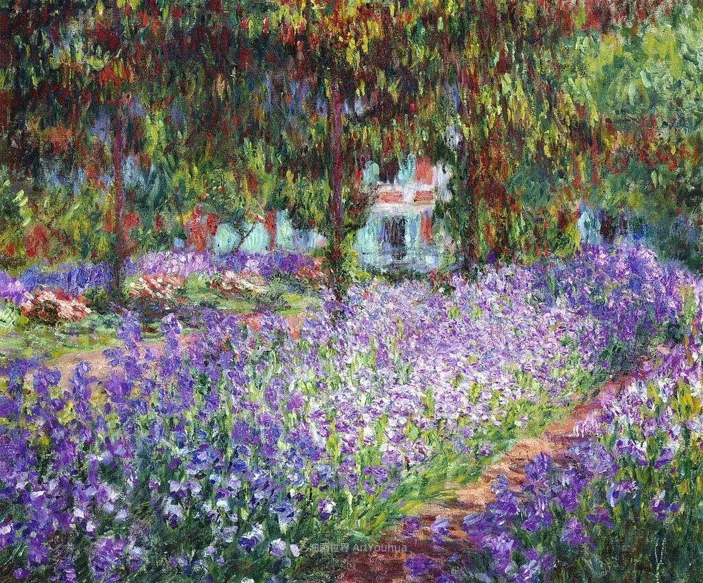 阳光四溢的色彩大师   以莫奈的花园祝你牛年欣欣向荣插图157
