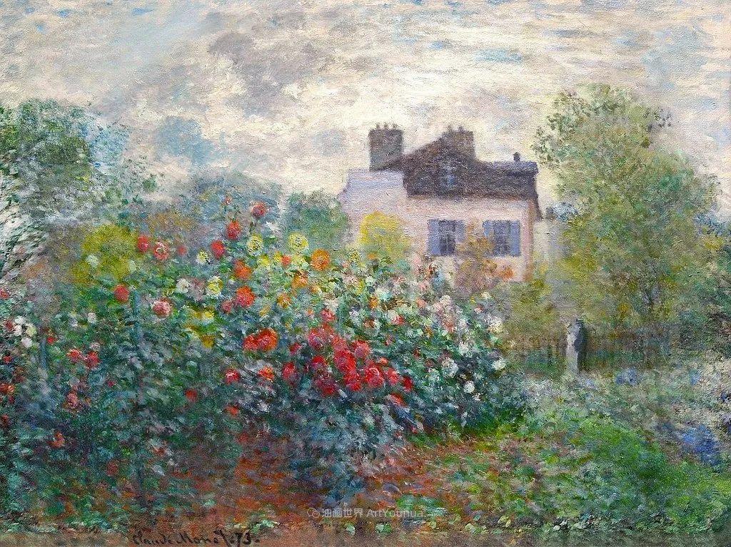 阳光四溢的色彩大师   以莫奈的花园祝你牛年欣欣向荣插图159
