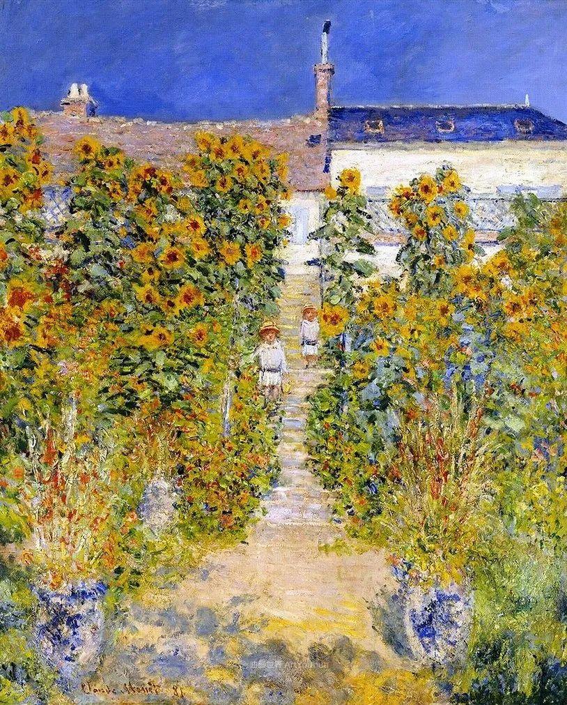 阳光四溢的色彩大师   以莫奈的花园祝你牛年欣欣向荣插图161