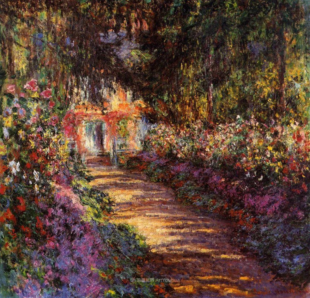 阳光四溢的色彩大师   以莫奈的花园祝你牛年欣欣向荣插图167