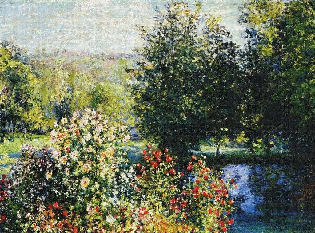 阳光四溢的色彩大师   以莫奈的花园祝你牛年欣欣向荣插图175