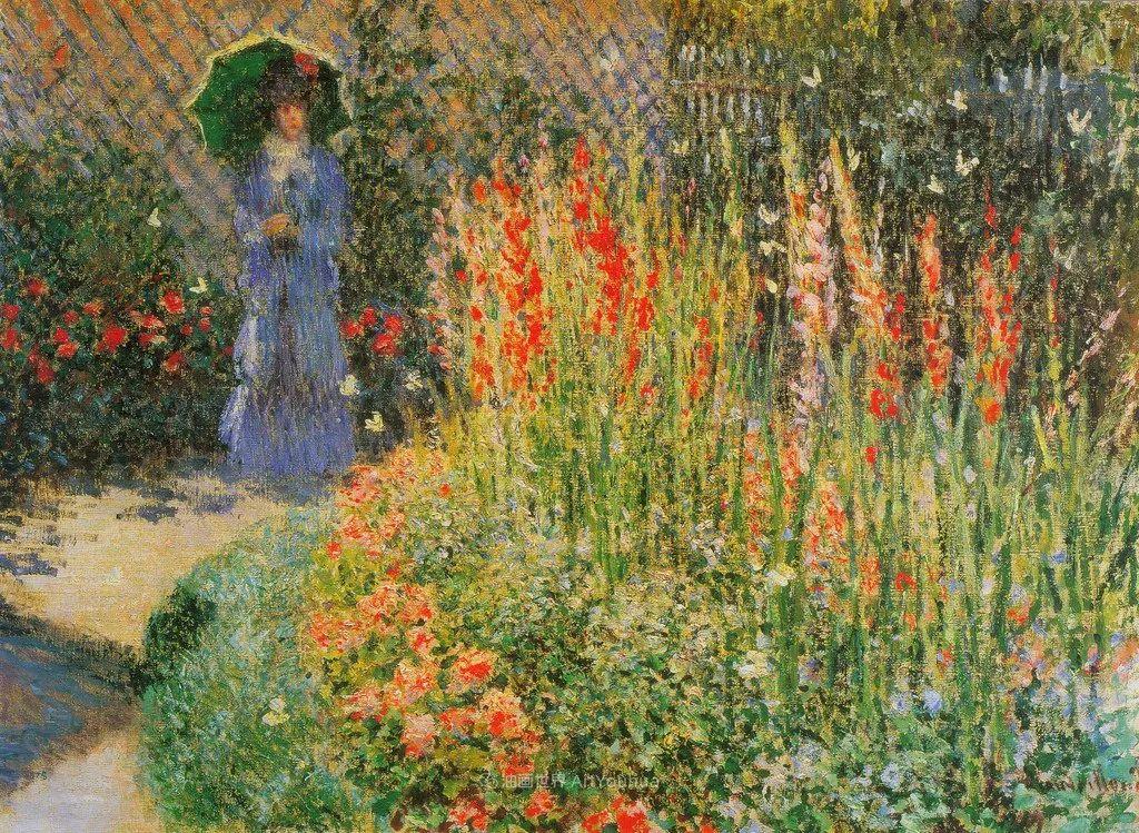 阳光四溢的色彩大师   以莫奈的花园祝你牛年欣欣向荣插图185