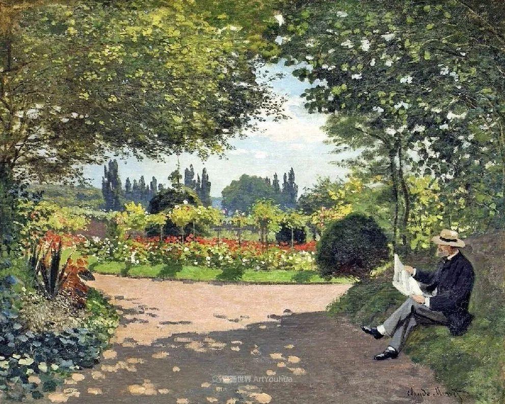 阳光四溢的色彩大师   以莫奈的花园祝你牛年欣欣向荣插图193
