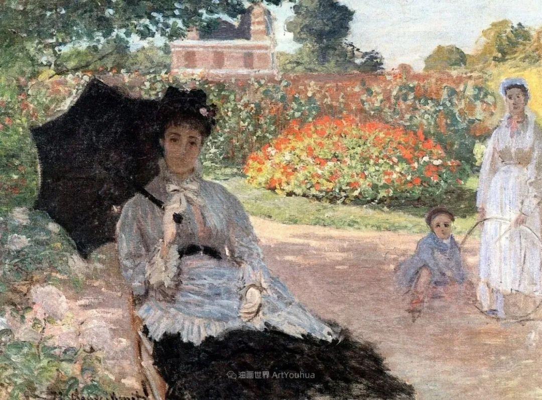 阳光四溢的色彩大师   以莫奈的花园祝你牛年欣欣向荣插图199