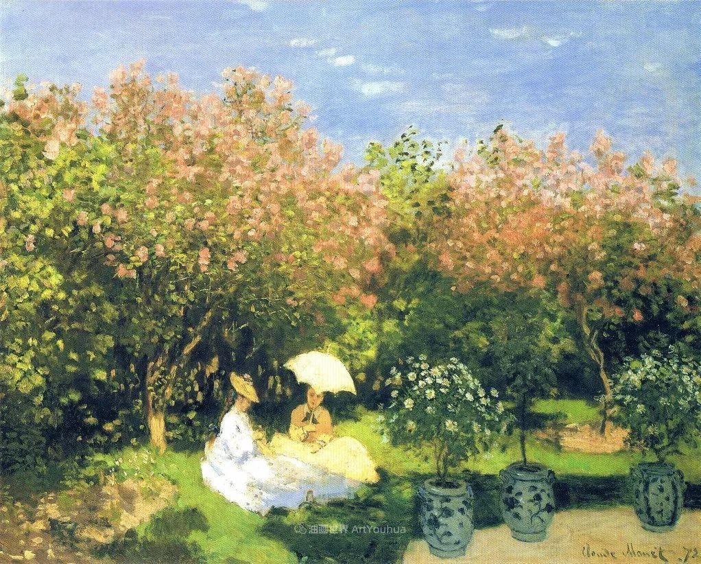 阳光四溢的色彩大师   以莫奈的花园祝你牛年欣欣向荣插图209