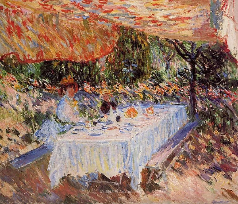 阳光四溢的色彩大师   以莫奈的花园祝你牛年欣欣向荣插图211