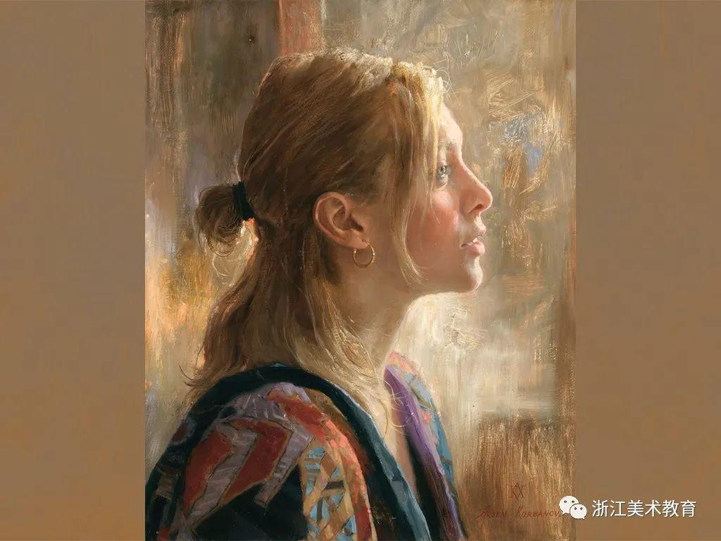 俄罗斯当代画家 | 笔触清晰,形象灵动插图1