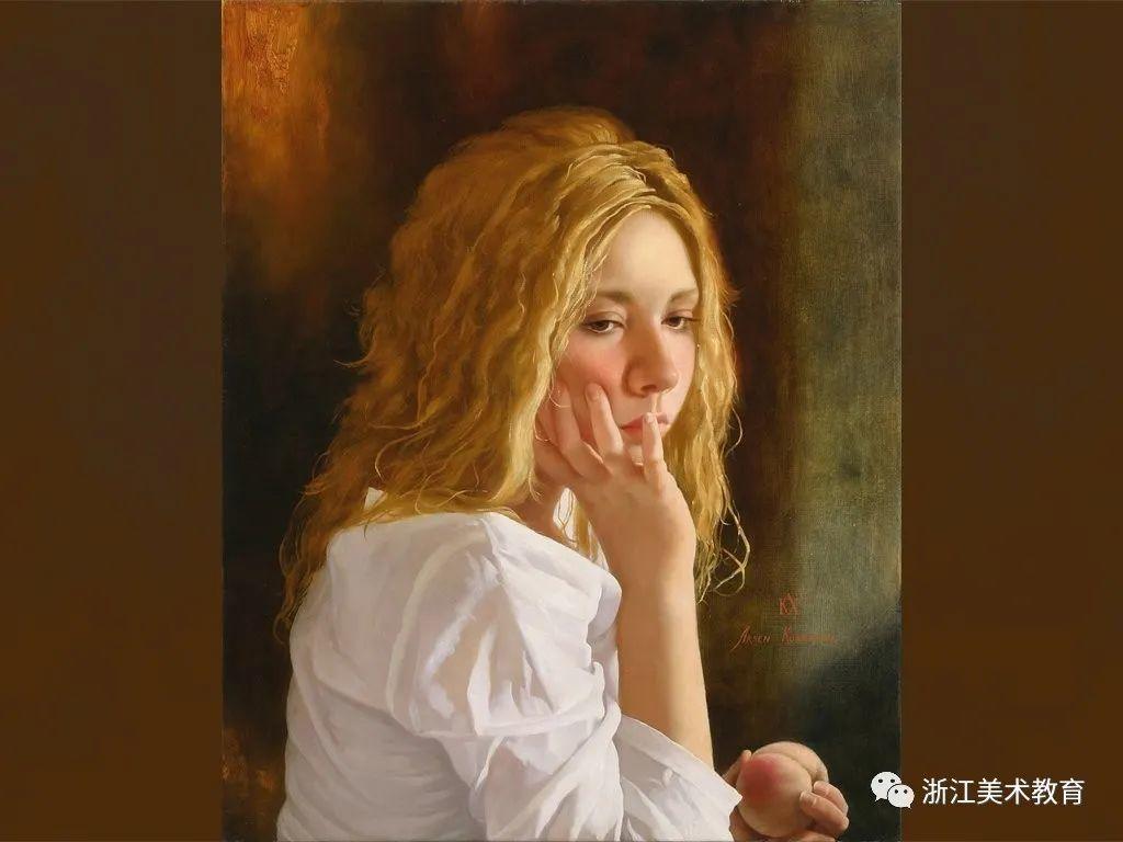 俄罗斯当代画家 | 笔触清晰,形象灵动插图7