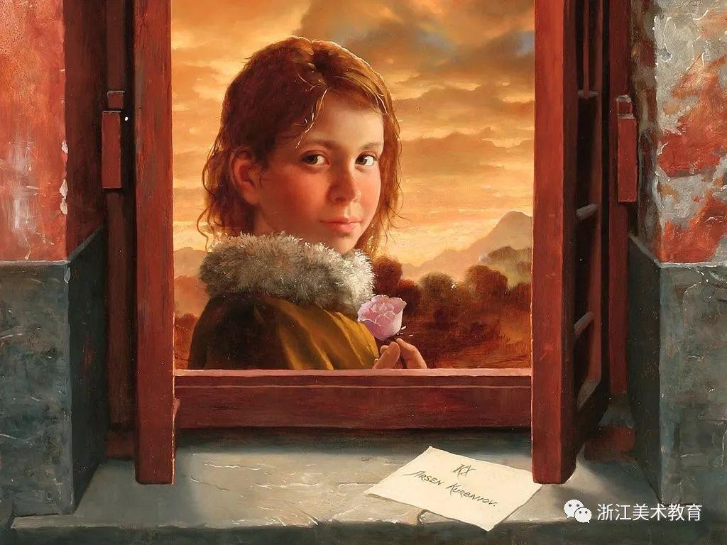 俄罗斯当代画家 | 笔触清晰,形象灵动插图9