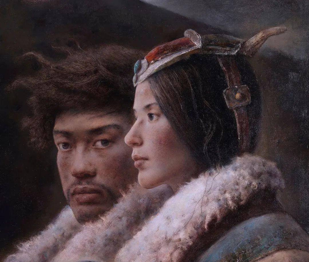 他画的西藏女孩,美得孤高、坚韧!插图23