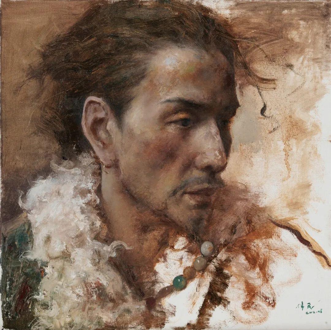 他画的西藏女孩,美得孤高、坚韧!插图51
