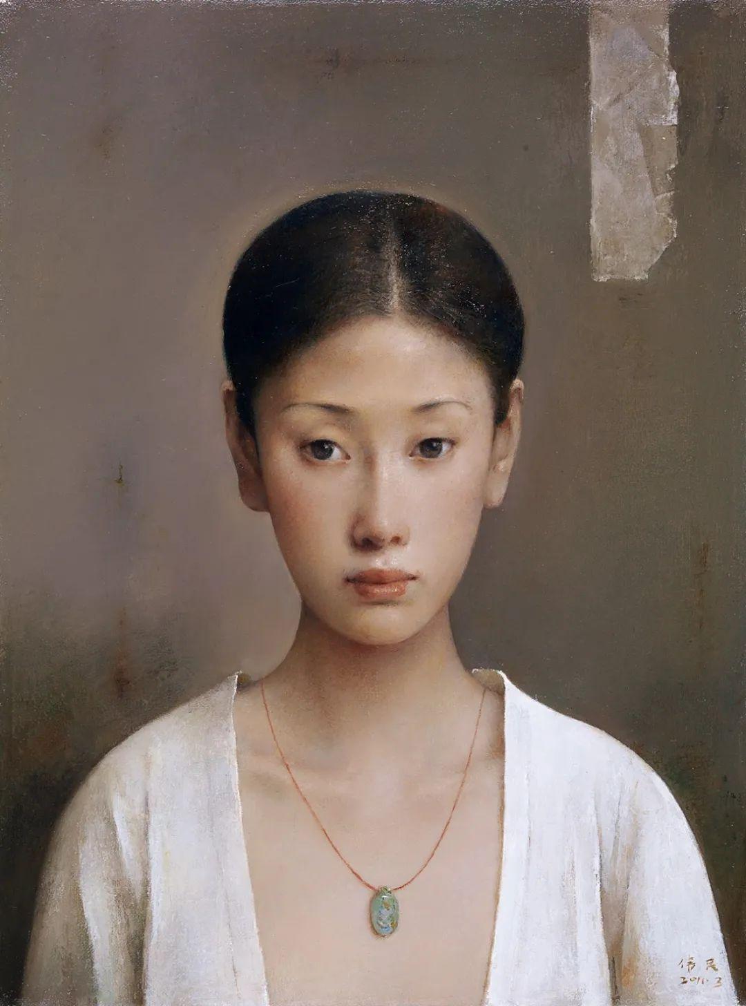 他画的西藏女孩,美得孤高、坚韧!插图91