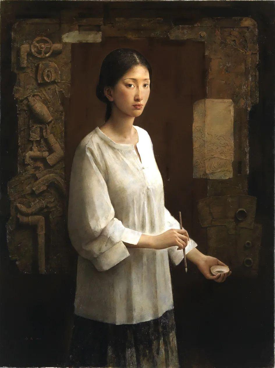 他画的西藏女孩,美得孤高、坚韧!插图93