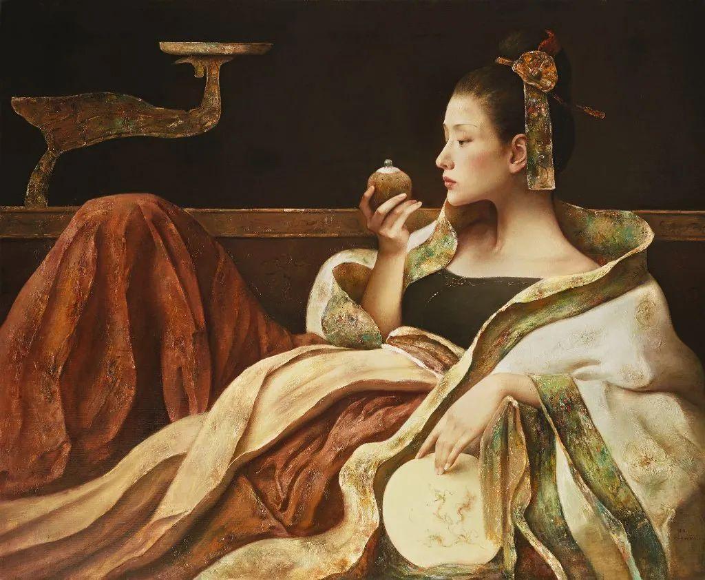他画的西藏女孩,美得孤高、坚韧!插图99