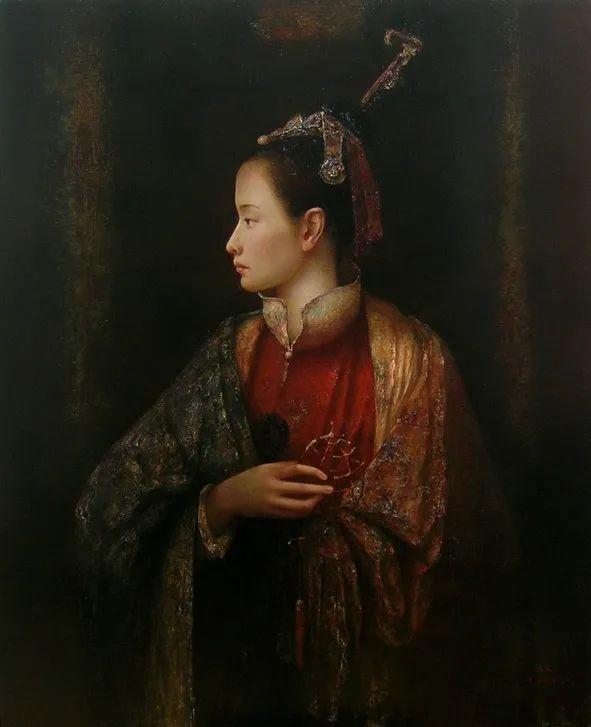 他画的西藏女孩,美得孤高、坚韧!插图107