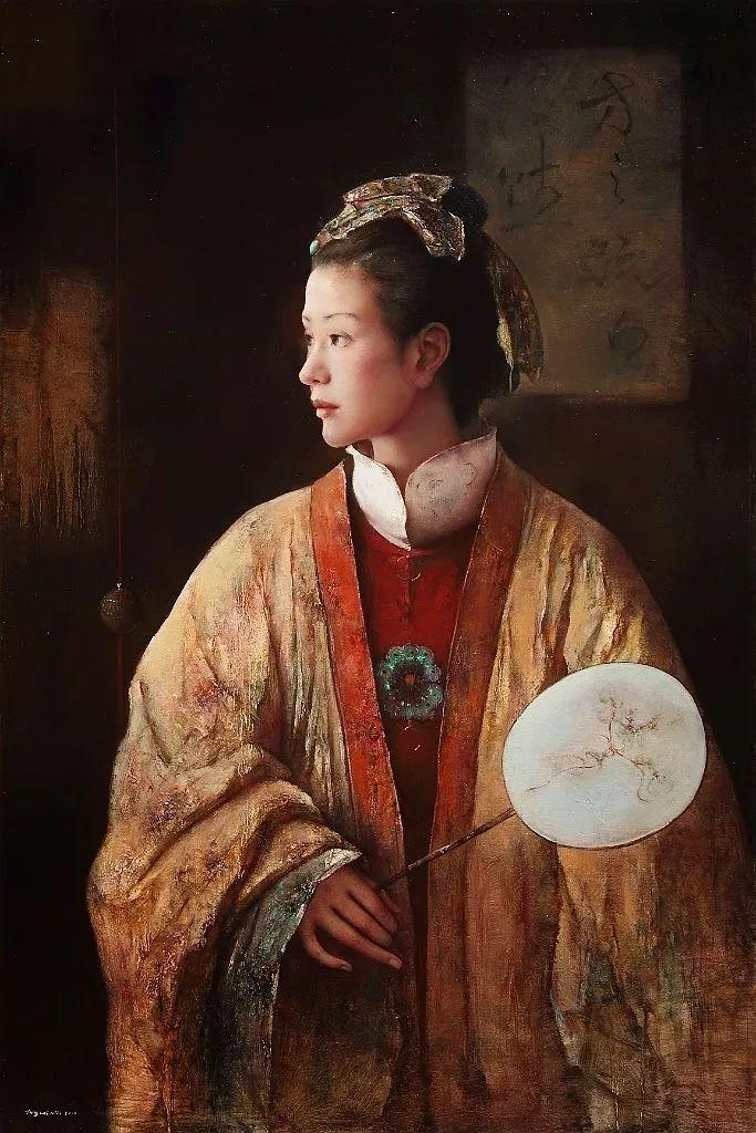 他画的西藏女孩,美得孤高、坚韧!插图109