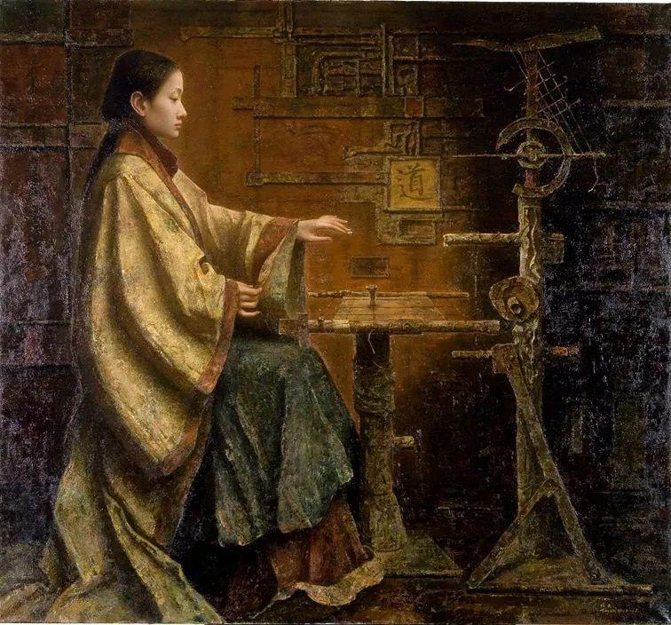 他画的西藏女孩,美得孤高、坚韧!插图151