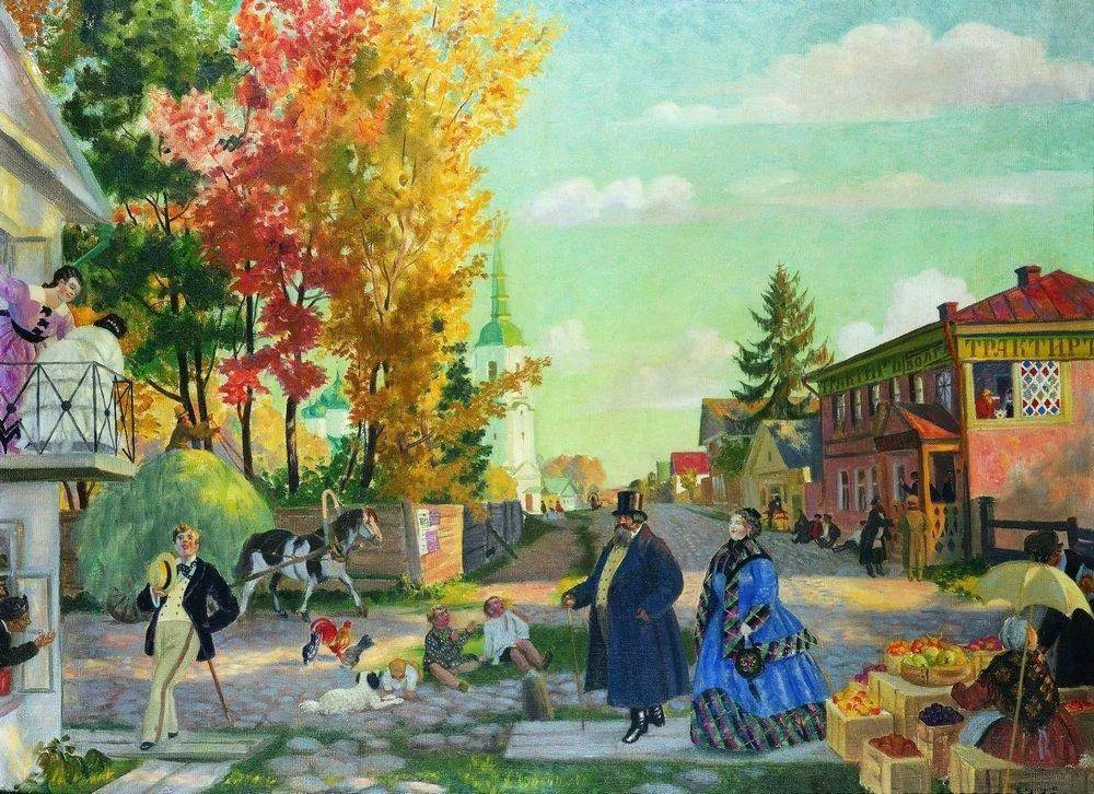 明快鲜亮的色彩,描绘俄罗斯乡村日常生活!插图7