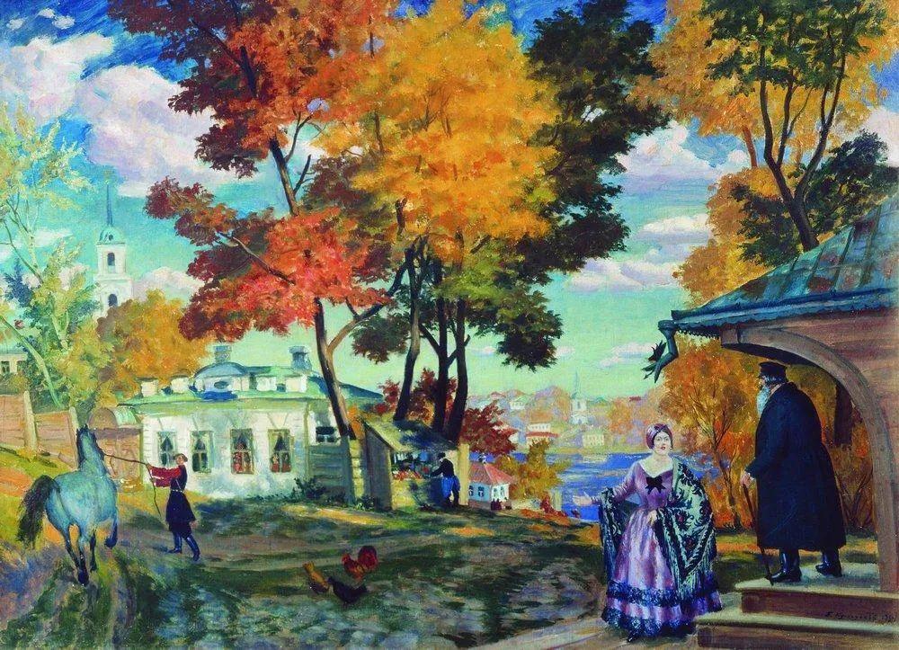 明快鲜亮的色彩,描绘俄罗斯乡村日常生活!插图9