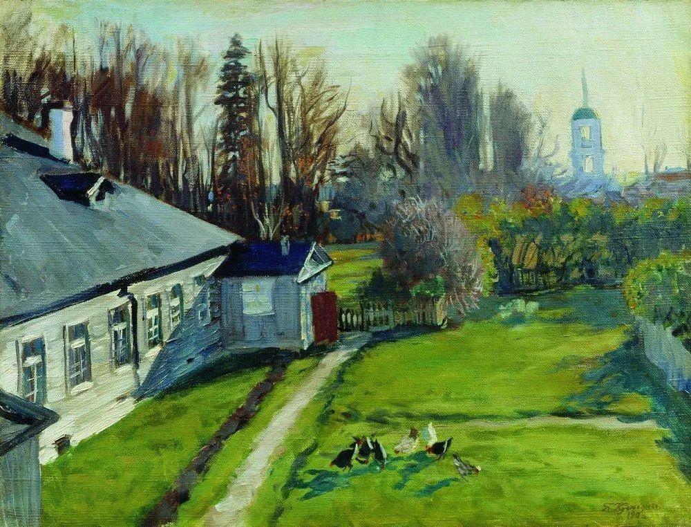 明快鲜亮的色彩,描绘俄罗斯乡村日常生活!插图15