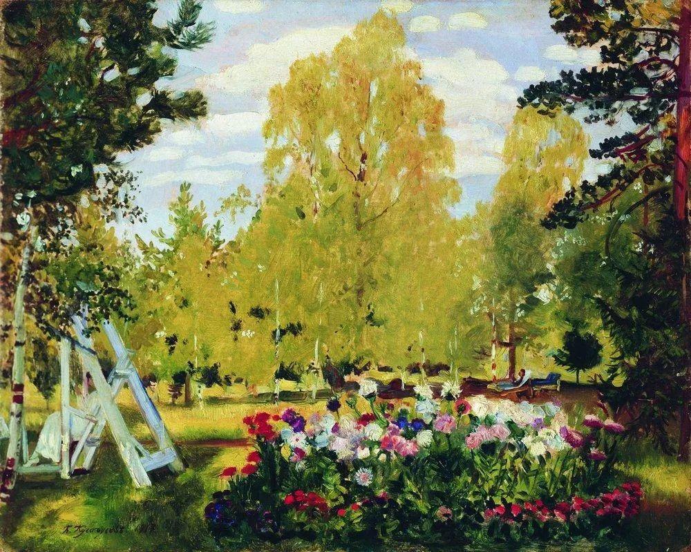 明快鲜亮的色彩,描绘俄罗斯乡村日常生活!插图25