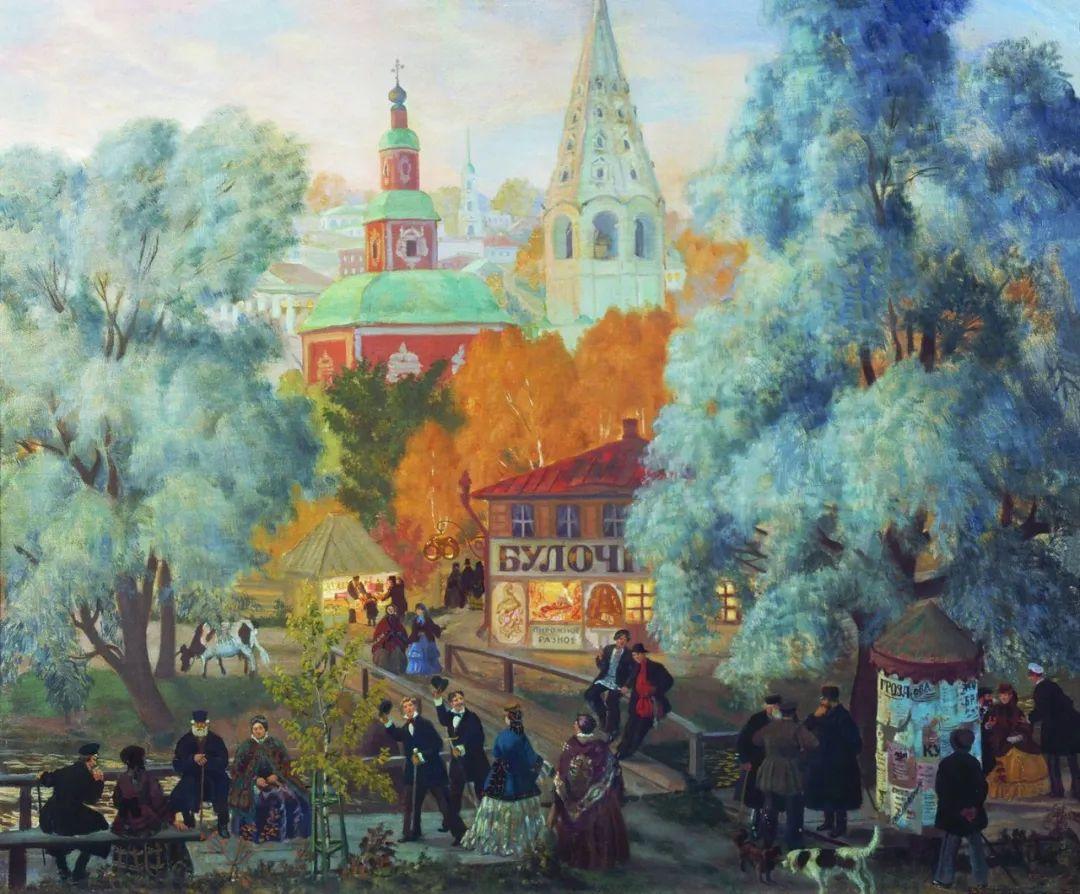 明快鲜亮的色彩,描绘俄罗斯乡村日常生活!插图27