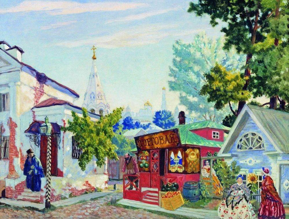 明快鲜亮的色彩,描绘俄罗斯乡村日常生活!插图29