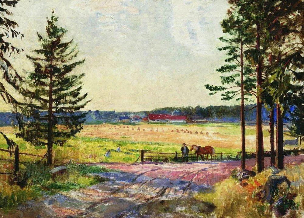 明快鲜亮的色彩,描绘俄罗斯乡村日常生活!插图35