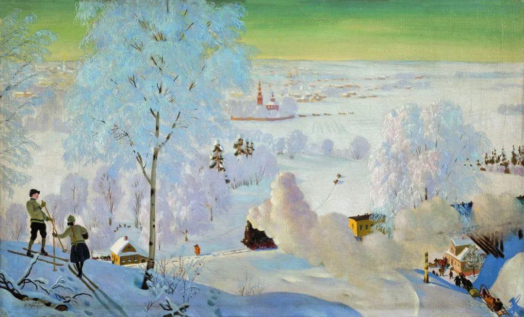 明快鲜亮的色彩,描绘俄罗斯乡村日常生活!插图41