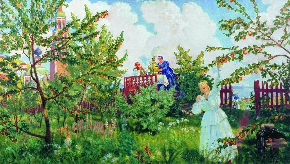 明快鲜亮的色彩,描绘俄罗斯乡村日常生活!插图51