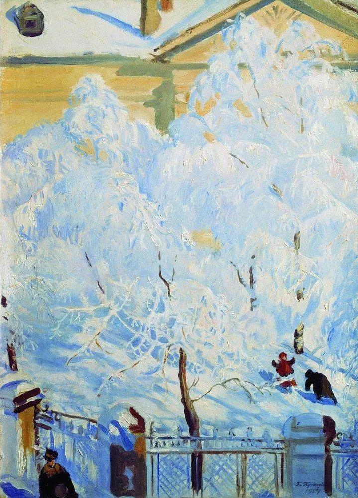明快鲜亮的色彩,描绘俄罗斯乡村日常生活!插图53
