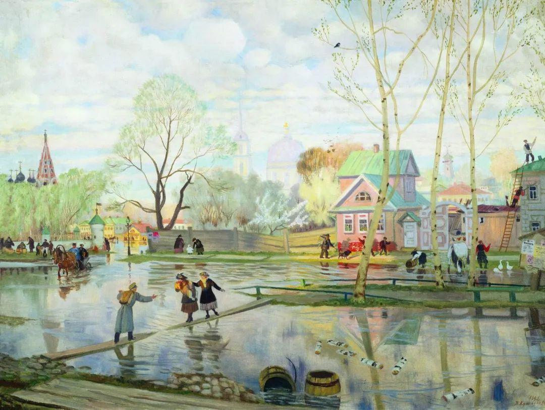 明快鲜亮的色彩,描绘俄罗斯乡村日常生活!插图55