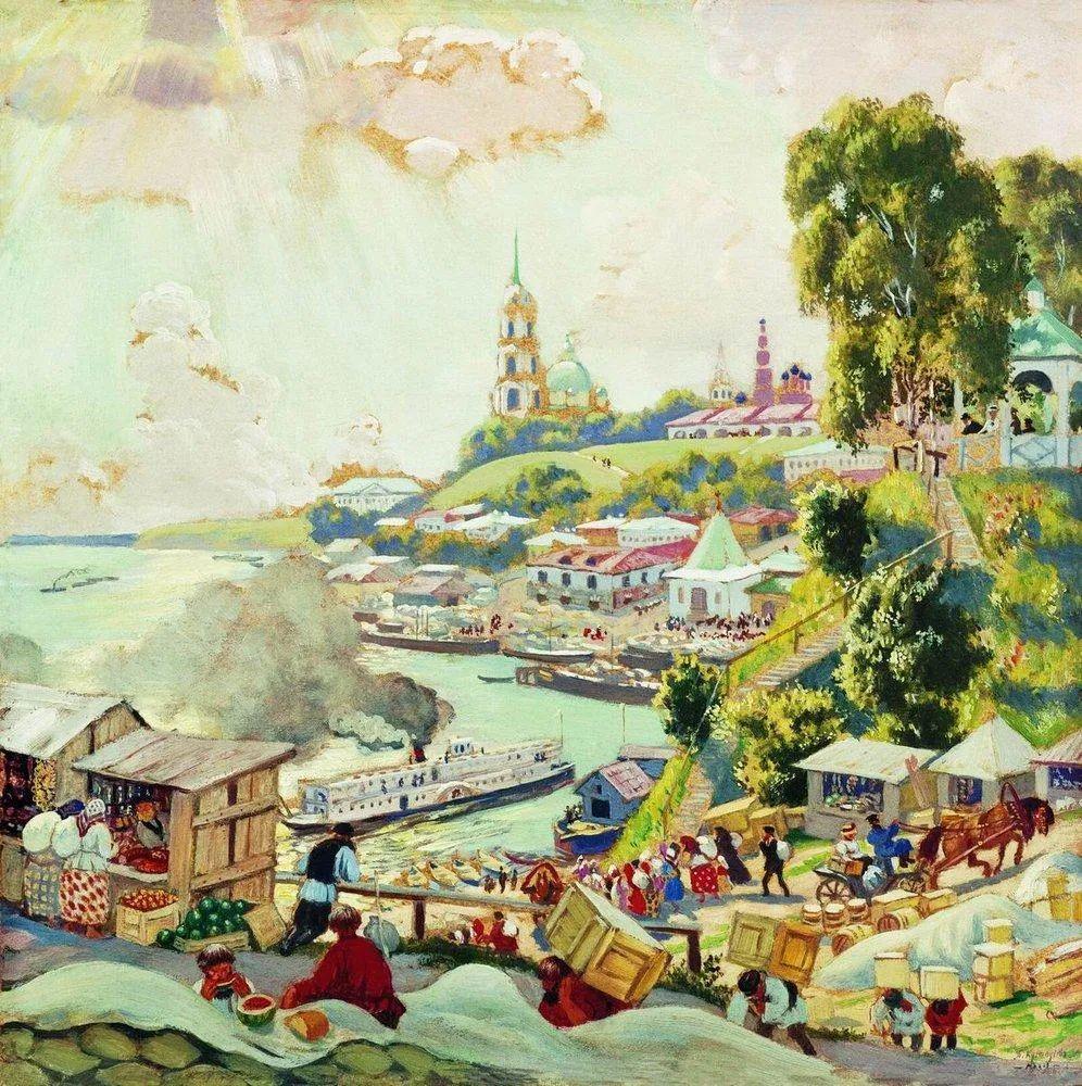 明快鲜亮的色彩,描绘俄罗斯乡村日常生活!插图57