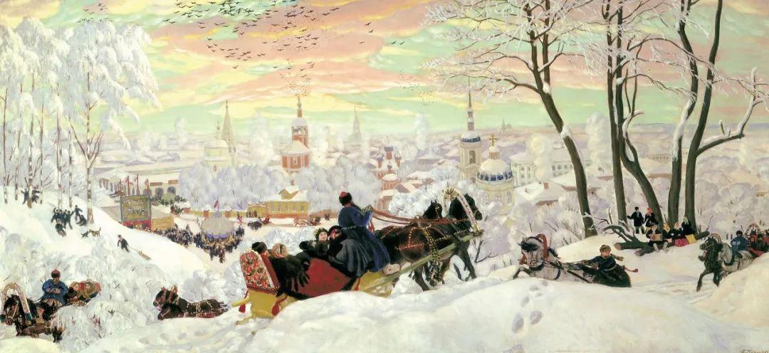 明快鲜亮的色彩,描绘俄罗斯乡村日常生活!插图61