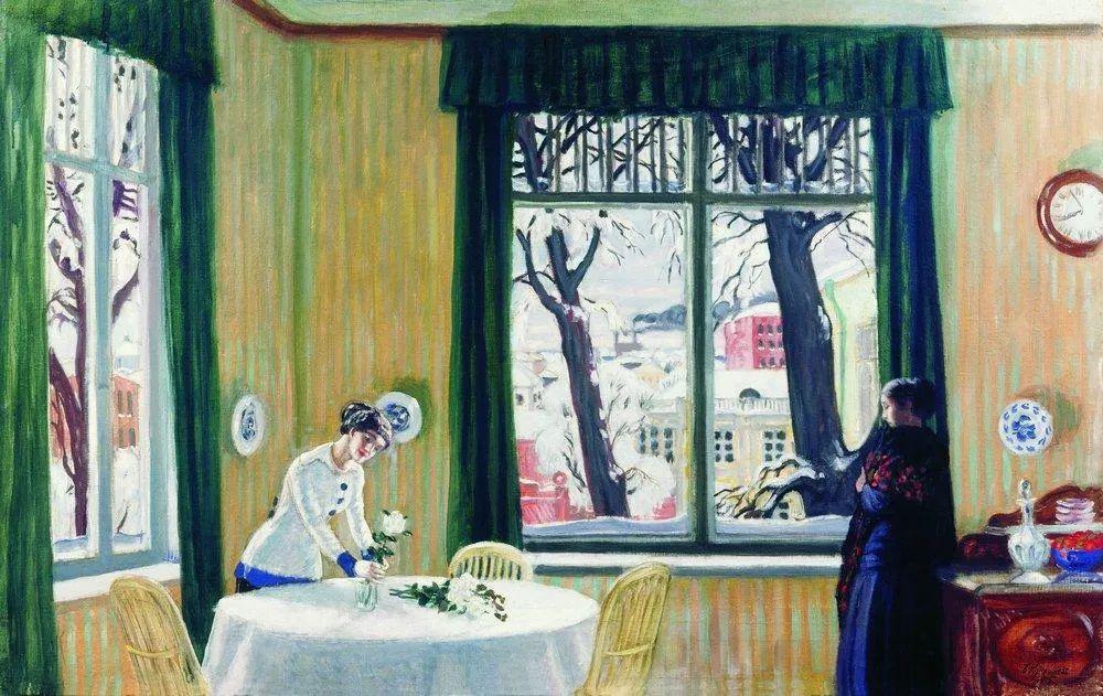 明快鲜亮的色彩,描绘俄罗斯乡村日常生活!插图63