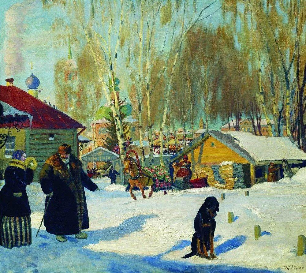 明快鲜亮的色彩,描绘俄罗斯乡村日常生活!插图65