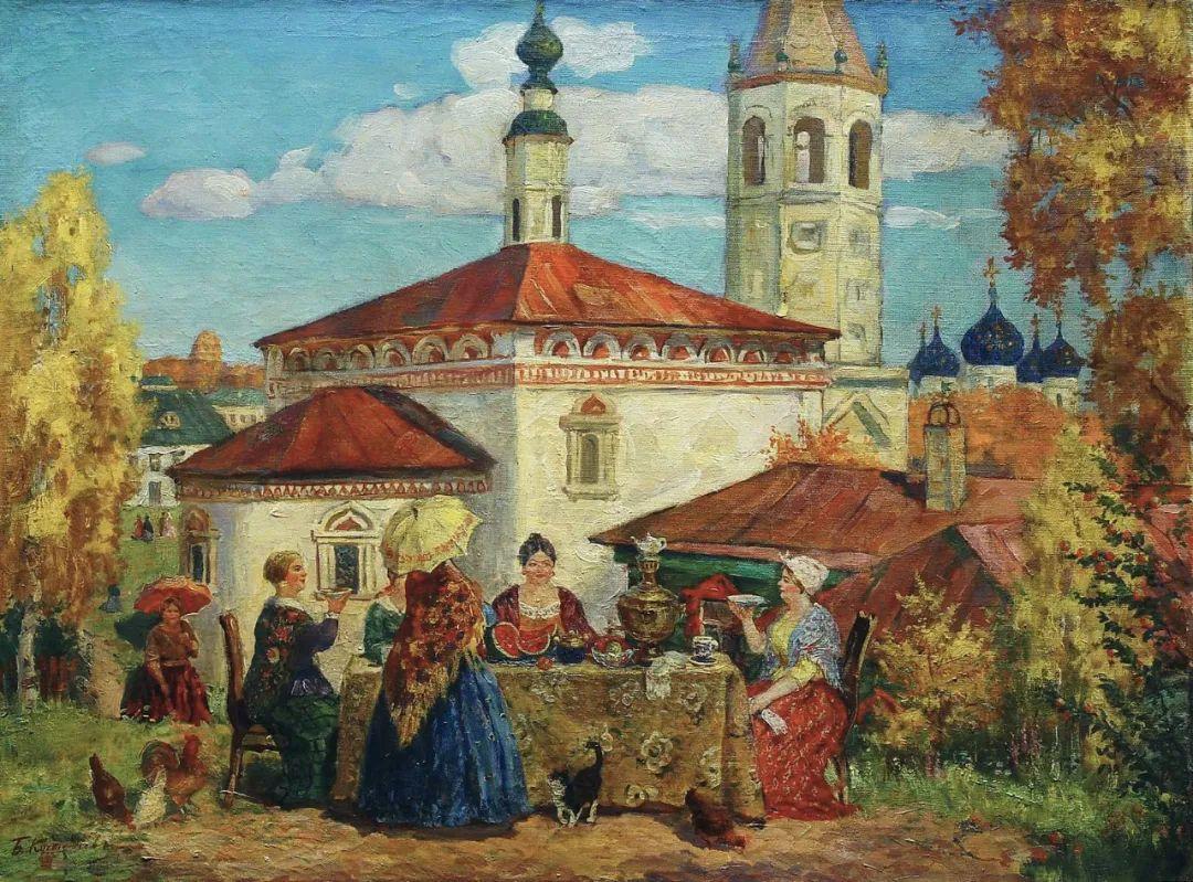 明快鲜亮的色彩,描绘俄罗斯乡村日常生活!插图67