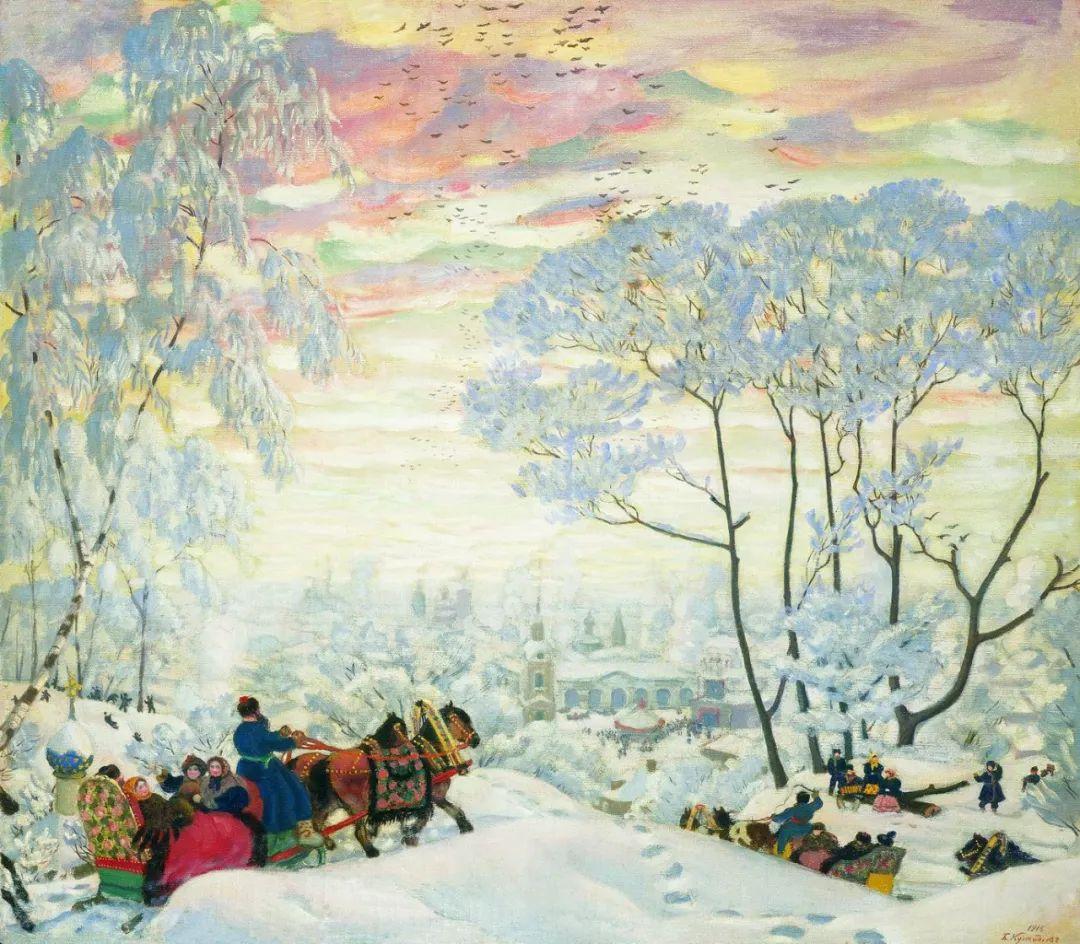 明快鲜亮的色彩,描绘俄罗斯乡村日常生活!插图69