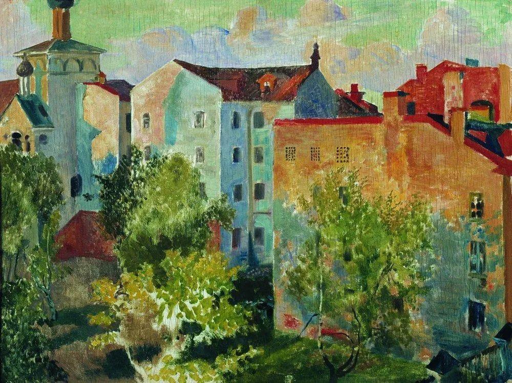 明快鲜亮的色彩,描绘俄罗斯乡村日常生活!插图75