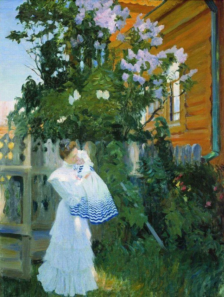 明快鲜亮的色彩,描绘俄罗斯乡村日常生活!插图77