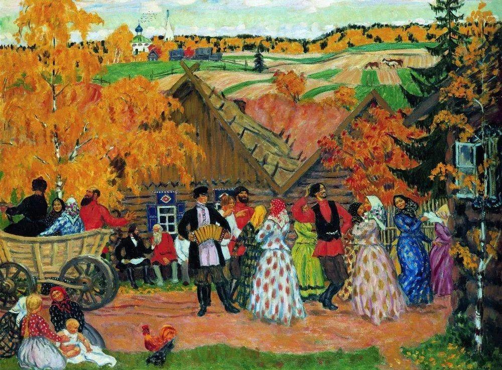 明快鲜亮的色彩,描绘俄罗斯乡村日常生活!插图79