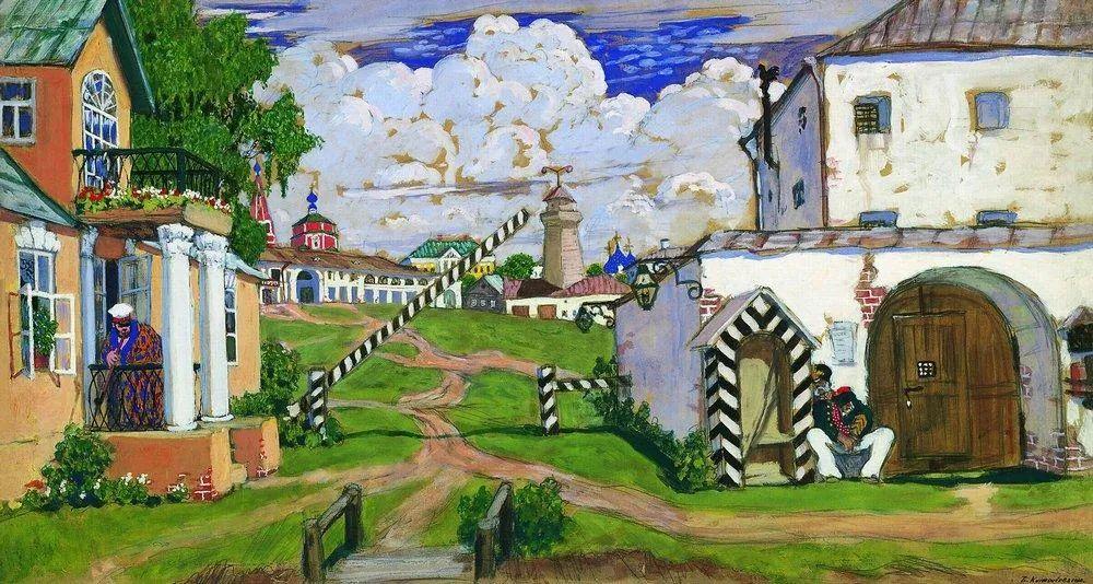 明快鲜亮的色彩,描绘俄罗斯乡村日常生活!插图83
