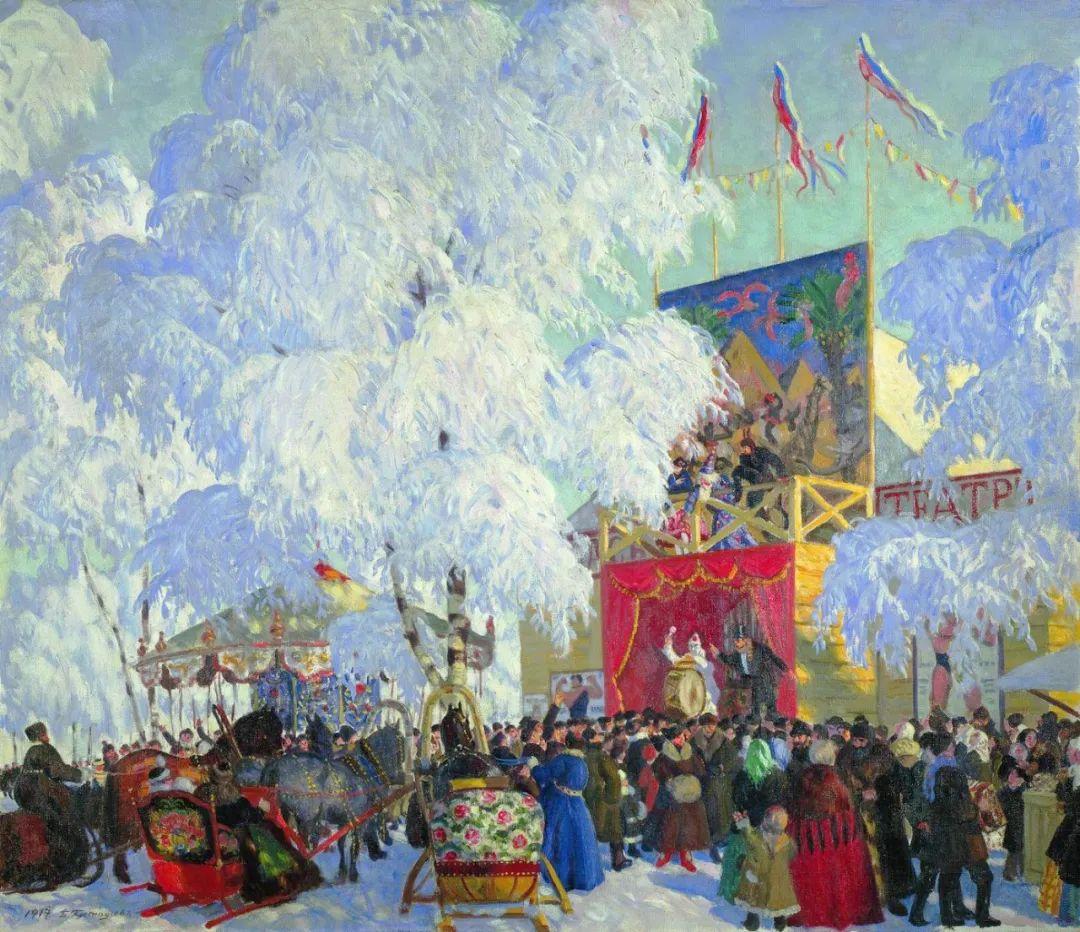 明快鲜亮的色彩,描绘俄罗斯乡村日常生活!插图89