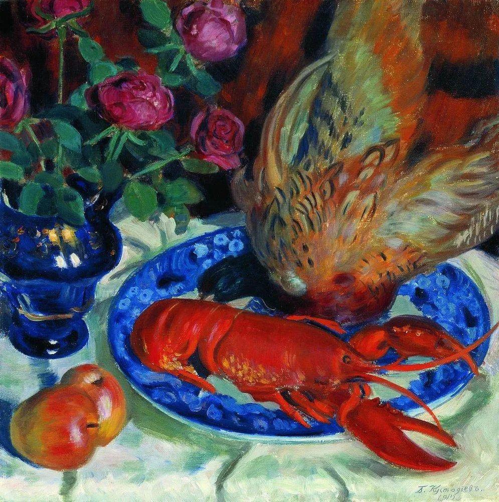 明快鲜亮的色彩,描绘俄罗斯乡村日常生活!插图91