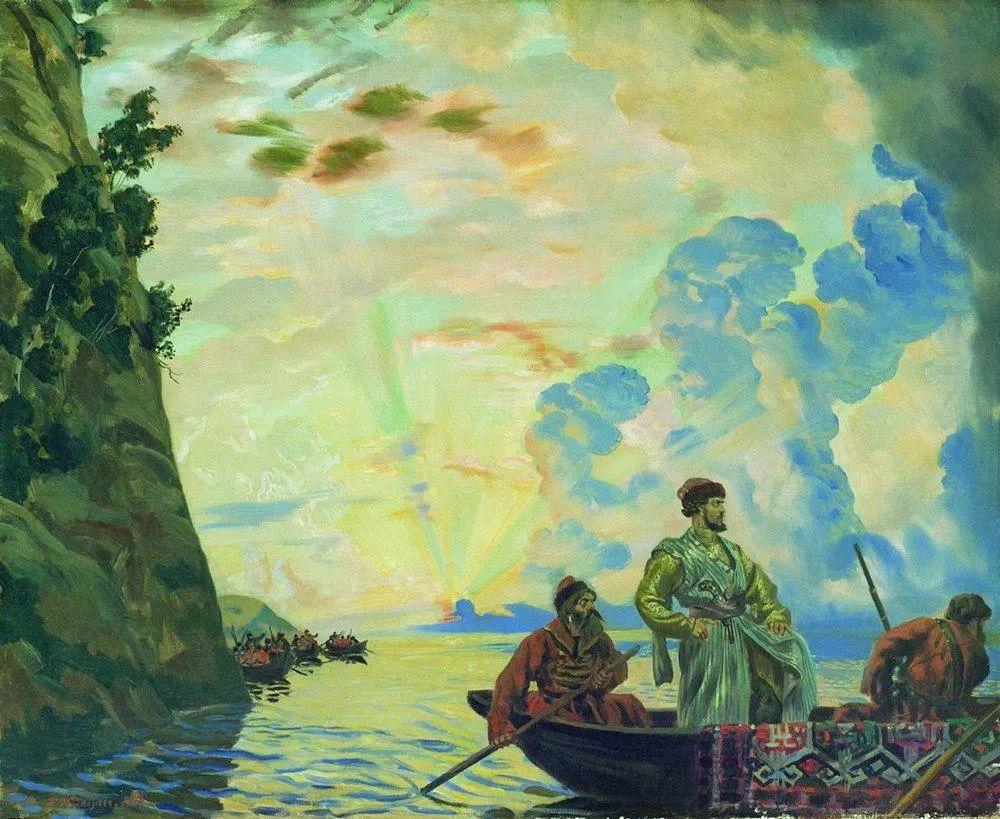 明快鲜亮的色彩,描绘俄罗斯乡村日常生活!插图93