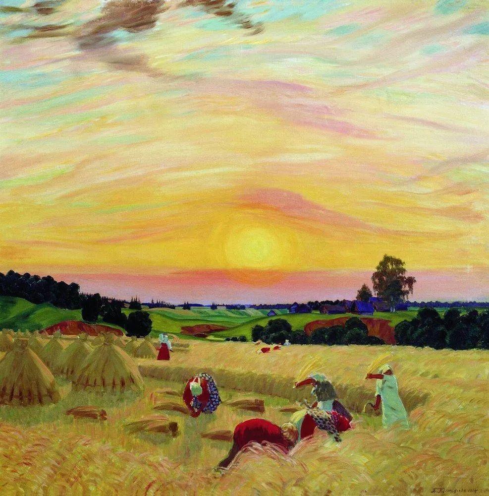明快鲜亮的色彩,描绘俄罗斯乡村日常生活!插图97