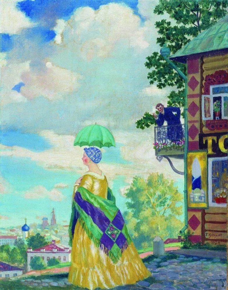 明快鲜亮的色彩,描绘俄罗斯乡村日常生活!插图99