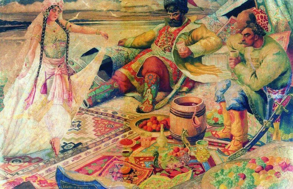 明快鲜亮的色彩,描绘俄罗斯乡村日常生活!插图101
