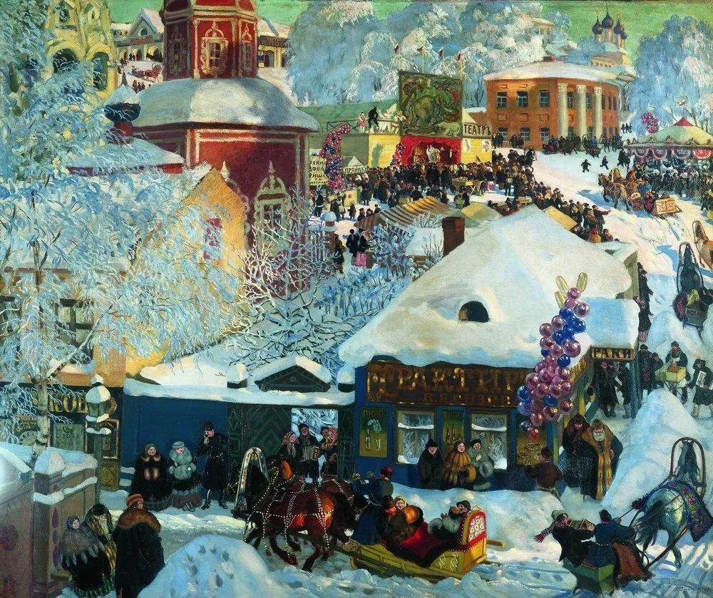 明快鲜亮的色彩,描绘俄罗斯乡村日常生活!插图105