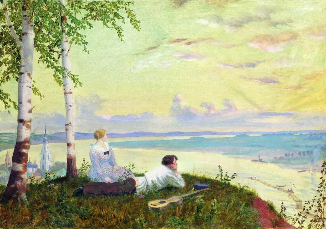 明快鲜亮的色彩,描绘俄罗斯乡村日常生活!插图107
